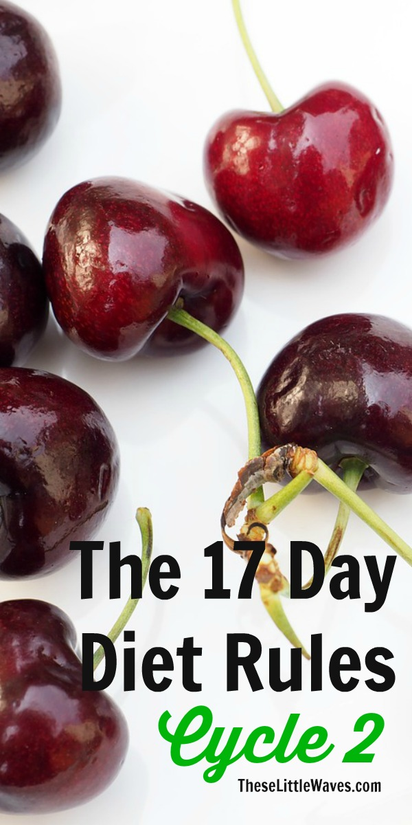 17 day diet cycle 2 recipes