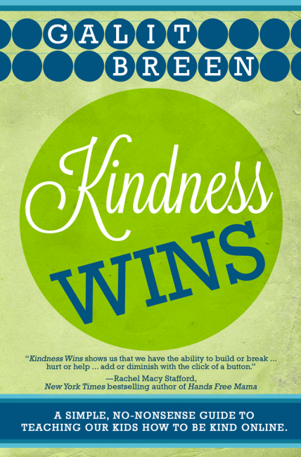 Kindness Wins Book is a simple, no-nonsense guide to teaching kids to be kind online