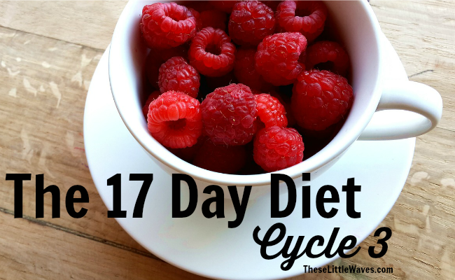 phase 3 of the 17 day diet
