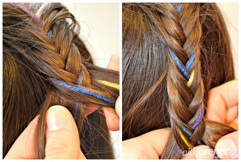 Step by step fishtail braid | These Little Waves