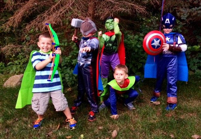 superhero birthday party fun ideas