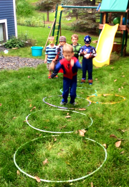 superhero birthday party games